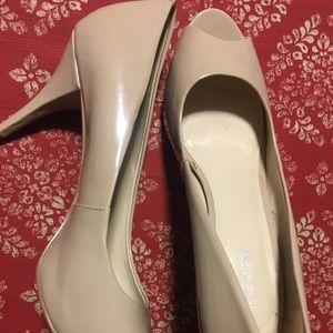 Nine West cute open toe heels